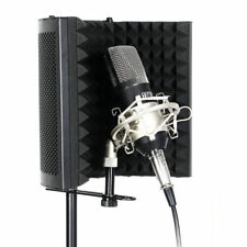 TONOR Microphone Isolation Shield Studio Mic Sound Absorbing Foam Reflector