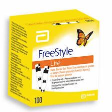 Abbott Freestyle LITE Blood Glucose Test Strips - 100 Count