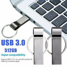 USB Stick Metall 512GB Flash Laufwerk Schlüsselanhänger Speicherstick U-Disk DE