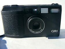 RICOH GR1 CAMERA AND CASE RARE CAMERA