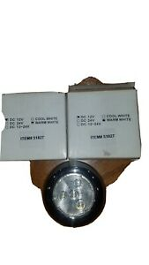 "2 NEW 3"" LED puck light 12V"