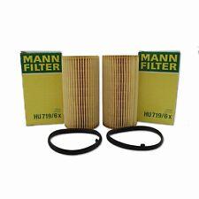 Oil Filter HU 719/6 x 2 Pack fits VW PASSAT 3C2 2.0 FSI