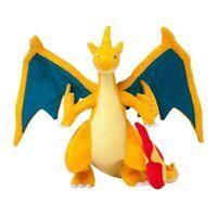 "1pcs 10"" 25cm Mega Charizard Plush Toys Charizard Y Plush Doll Stuffed Soft Goo"