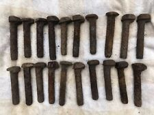 Lot Of 20 Old Railway Dog Spikes, Railroad Nails, Collectable, Decorative Rustic