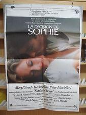 A3087 La decisión de Sophie Meryl Streep, Kevin Kline, Peter MacNicol, Rita Kari