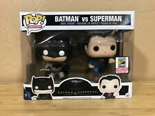 Funko POP! Batman v Superman 2-pack 2015 San Diego Comic-Con Exclusive Set