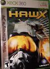 Tom Clancy's HAWX  XBOX 360 (Microsoft 2009) Game COMPLETE w/ Manual