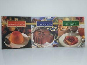 Le Cordon Bleu Home Collection Lot Chocolat, BrunchSaveurs D'Hiver Softcover