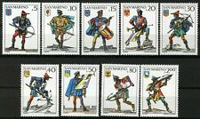 REPUBLIC OF SAN MARINO - 1973 - Crossbow Tournament - MNH Set/9 Stamps - #819-27