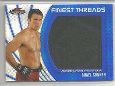 2012 Topps UFC Finest Chael Sonnen Fighter Worn Gear Card # 114/188