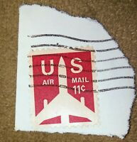 Authentic U S Postage Stamp 11 Cents U S Air Mail