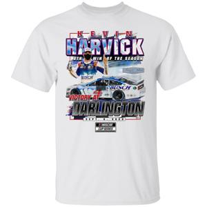 Men's Kevin Harvick Checkered Flag 2020 500 Race Winner T-Shirt M-3XL