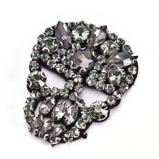 1Pc Rhinestones Skull Beaded Sequins Sew On Patches for clothesDIYAppliqueBag FO