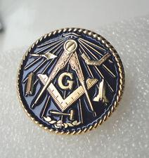 ZP467 Freemason Masonic Tools G Geometry Square Compass Lodge pin badge
