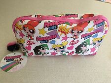 POWER PUFF GIRLS LARGE MAKEUP BAG..BUBBLES..BUTTERCUP..BLOSSOM..CARTOON NETWORK