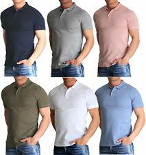 Jack and Jones Herren Poloshirt & T- Shirt Polo kurzarm Slim Fit Basic Baumwolle