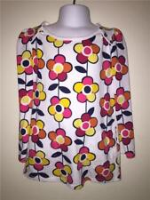 OLD NAVY 5T TODDLER GIRLS LONG SLEEVE POCKET TUNIC MOD FLOWER PINK WHITE YELLOW