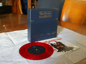 THE BEATLES EPs COLLECTION 15 vinyles ROUGES COFFRET made in Japan MONO