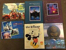 Lot Of 6 Souvenir Disney Books
