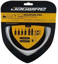 New Jagwire Mountain Pro MTB Brake Cable Kit Ripcord Set White Shimano Sram