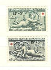 YVERT N° 937 - 38  COIX ROUGE  TIMBRES FRANCE NEUFS sans charnières