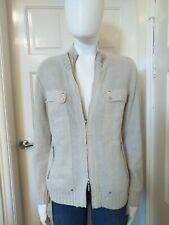 Adolfo Dominguez Linen/Cotton Cardigan Style Jacket Size XL
