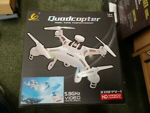 Syma X5sw FPV Explorers2 2.4ghz 4ch 6-axis Gyro RC Quadcopter Drone W/BACKPACK!!