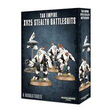 Warhammer 40k: Tau Empire XV25 Stealth Battlesuits GWS 56-14 NIB
