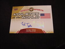 SWEET Frank Trigg 2010 Upper Deck #AW-66 Athletes of the World Auto'd Card, MMA!