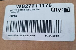 NEW GE Control Board OEM WB27T11176