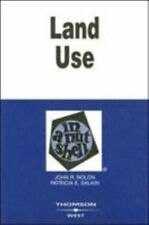 Land Use in a Nutshell (Nutshells), Salkin, Patricia, Nolon, John Book
