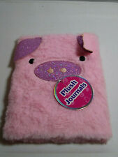 Plush Journal - Pig - NEW