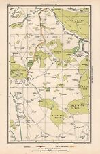 1933 LONDON MAP- MOOR PARK,BATCHWORTH HEATH,HAREFIELD,BATCHWORTH,MAD BESS WOOD