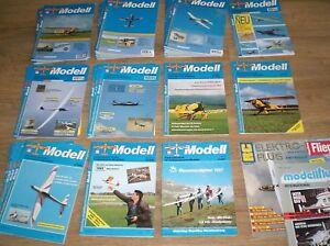 32 x Modell Fachzeitschrift für funkgesteuerte Modelle 1987-2003 + 3 Einzelhefte
