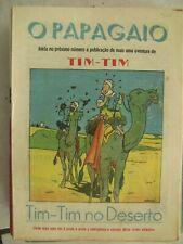TINTIN HERGE 55 MAGAZINES O PAPAGAIO LE PETIT xxe PORTUGAIS ANNEES 1943 RARE