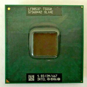 INTEL Core 2 Duo T5550 SLA4E MOBILE - 1,83GHz / 2M / 667MHz - Sockel PPGA478#822