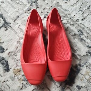 Women's Crocs Sienna Flat Sz 8