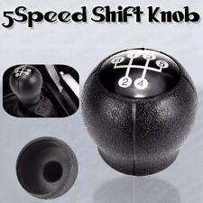 Black 5 Speed Gear Stick Shift Knob OPEL Corsa Astra Vectra Combo Meriva NEW