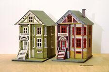 144th Painted Lady Washington Miniature Dollhouse Kit Model