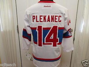New Premier Sewn Tomas Plekanec #14 Montreal Canadien NHL Winter Classic Jersey