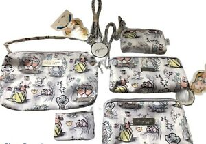 Lot of 5 NWT JU JU BE DISNEY It's a Mad Mad World Be Set & Be Quick & Coin Purse