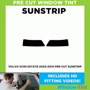 Pre Cut Sunstrip - Volvo XC90 Estate 2002-2014 - Window Tint