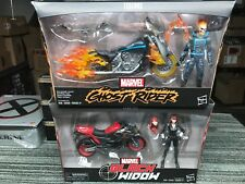 Marvel Legends GHOST RIDER BLACK WIDOW ultimate riders set