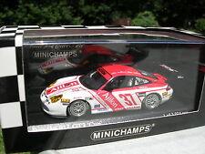 """MINICHAMPS 1/43 PORSCHE 911 GT3 """"CUP"""" DAYTONA 2005 N°37!!!"""