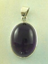 Sterling Silver 925 Amethyst Pendant P53