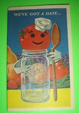 WE'VE GOT A DATE KERR HOME CANNING AND FREEZING GUIDE 1967 ADVERTISING BOOKLET
