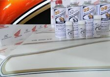 Honda CB 550 cuatro charol frase charol flake Sunrise naranja + decoración tankzierstreifen