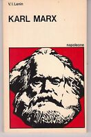 VLADIMIR ILIC LENIN KARL MARX EDITRICE ROBERTO NAPOLEONE 1977