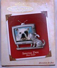 2003 Hallmark Keepsake Special Dog Photo Holder Ornament