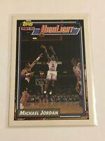 1992-93 Topps Basketball Highlight - Michael Jordan - Chicago Bulls